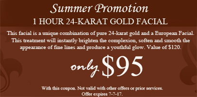 Gold Facial Promotion